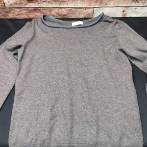 Gran Sosso men's sweater wool S/M made in Italy P4